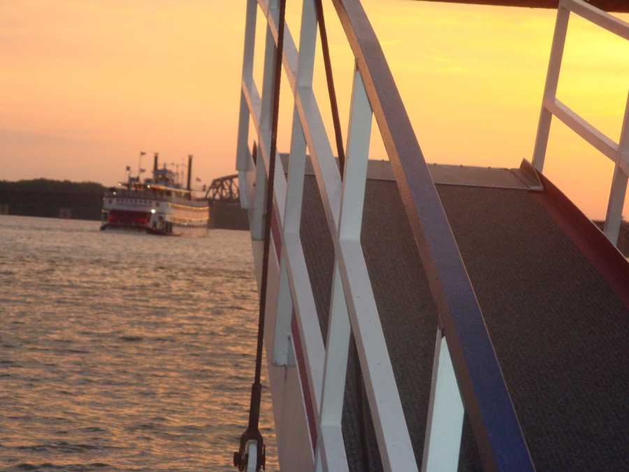 WLKY producer Josh Abelove shared his photos from the Spirit of Jefferson cruise