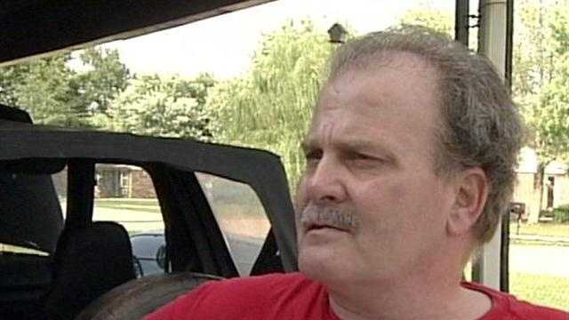 A man speaks out after being arrested and accused of leaving his grandson in a hot car.