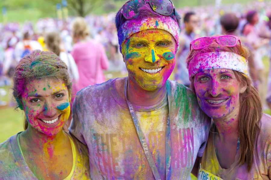The Color Run is called the Happiest 5K on the Planet. From these photos it isn't difficult to see why!