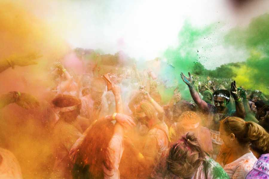 The Color Run in Atlanta. Photo by Brian Hall.