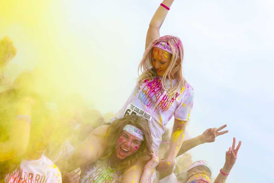 The Color Run in Southern California