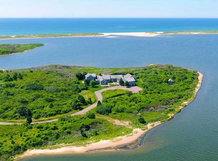 A $19,500,000 property is for sale in Edgartown.