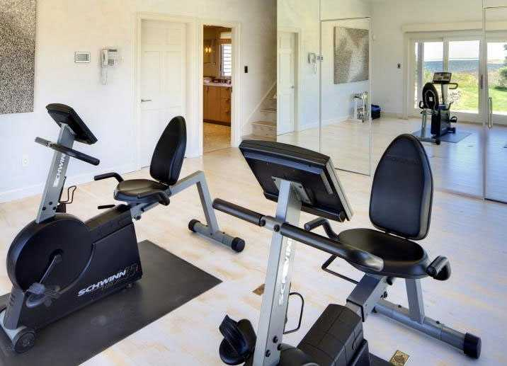 The home also has a gym.