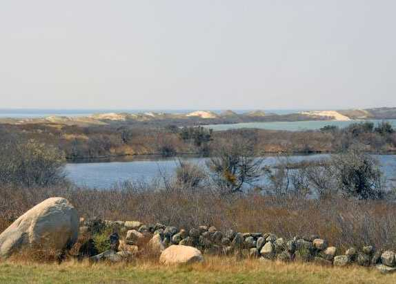 Another property on the south shore of Chilmark is listed with Wallace & Co. Sotheby's International Realty for $16,500,000.