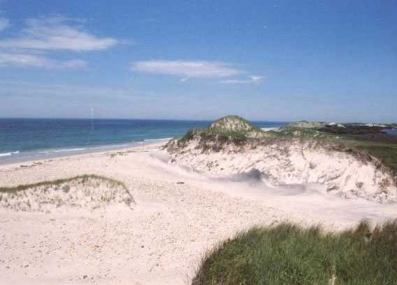 The 16.7 acre property on Spruce Gate Road is a walk away from private association beaches.
