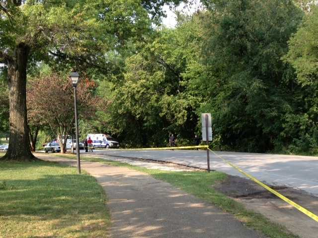One person is dead after running off the road and crashing into a tree in Seneca Park.