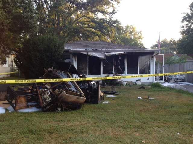 A fire broke out Wednesday morning in the 2600 block Franklin Ave.