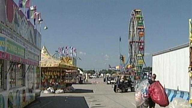 Last-minute Kentucky State Fair preps under way