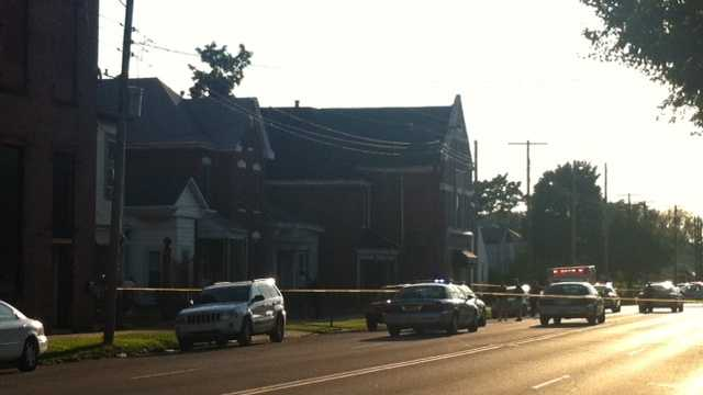 Louisville Metro Police investigate a deadly stabbing in the city's west end.