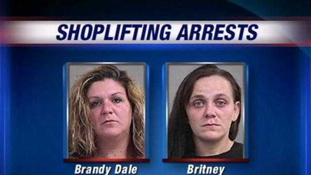 Brandy Dale and Britney Ballinger