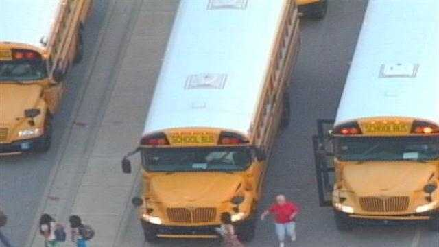 There have been no major problems as JCPS students head back to school