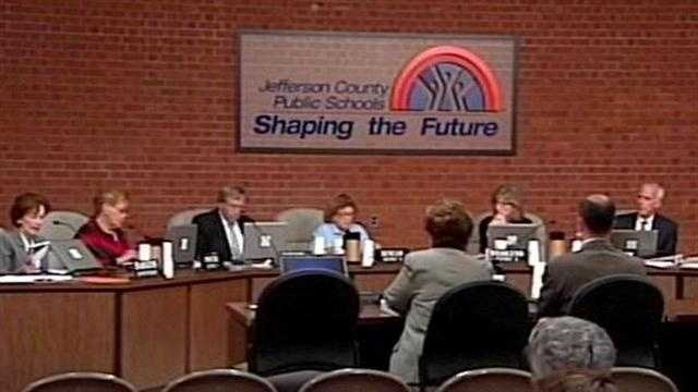 The Jefferson County Public School Board unanimously approves a tax increase on property owners.