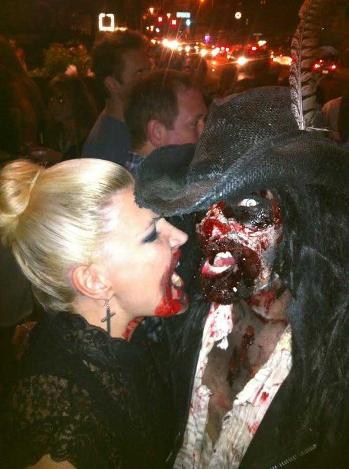 The walking dead took over the Highlands of Louisville for the annual Zombie Walk.