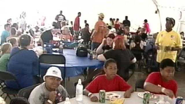 Thousands of local union workers enjoyed a day off at the annual United Labor picnic at the Louisville Zoo.