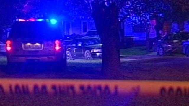 Louisville Metro Police investigate a shooting near Churchill Downs.