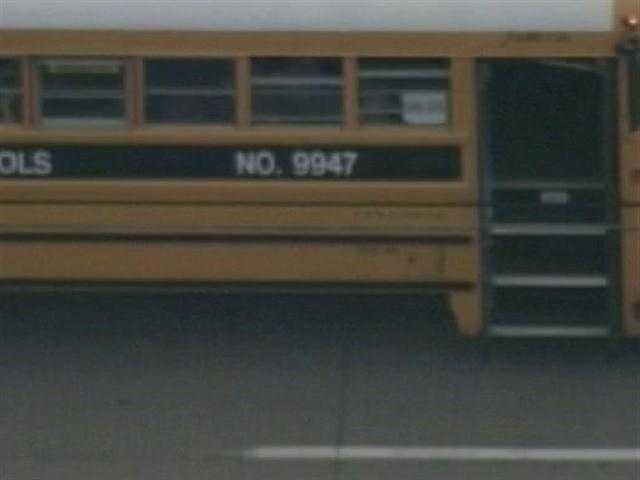 Emergency crews were called to the scene of a school bus accident in Louisville on Poplar Level Road at Produce Lane. It appears another vehicle ran into the back of bus # 9947. The accident doesn't appear to be serious.