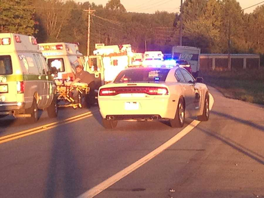 At least one person is dead after a crash on State Rd. 60 near Deam Lake.