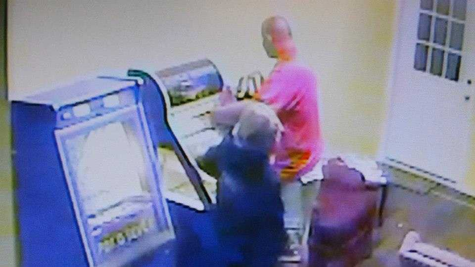 Police in Carroll County seek help identifying two people they say vandalized a laundromat.
