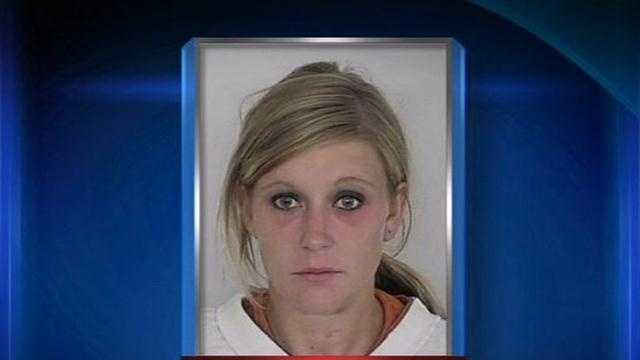 A pregnant drug suspect who ran away from police in a hospital gown was in court Thursday afternoon.