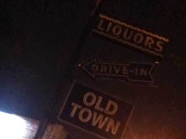 It happened shortly after 4 a.m. in the 1500 block of Bardstown Road at the Old Town drive-thru liquor store.