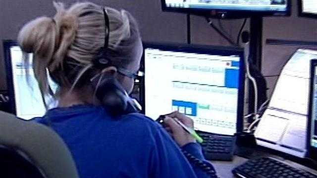 After an outage, 911 service is restored to some southern Indiana residents early Monday morning.