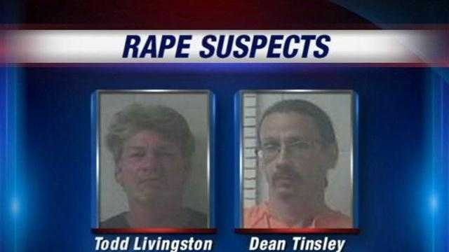 Two men are accused of repeatedly raping a young girl in Hardin County.