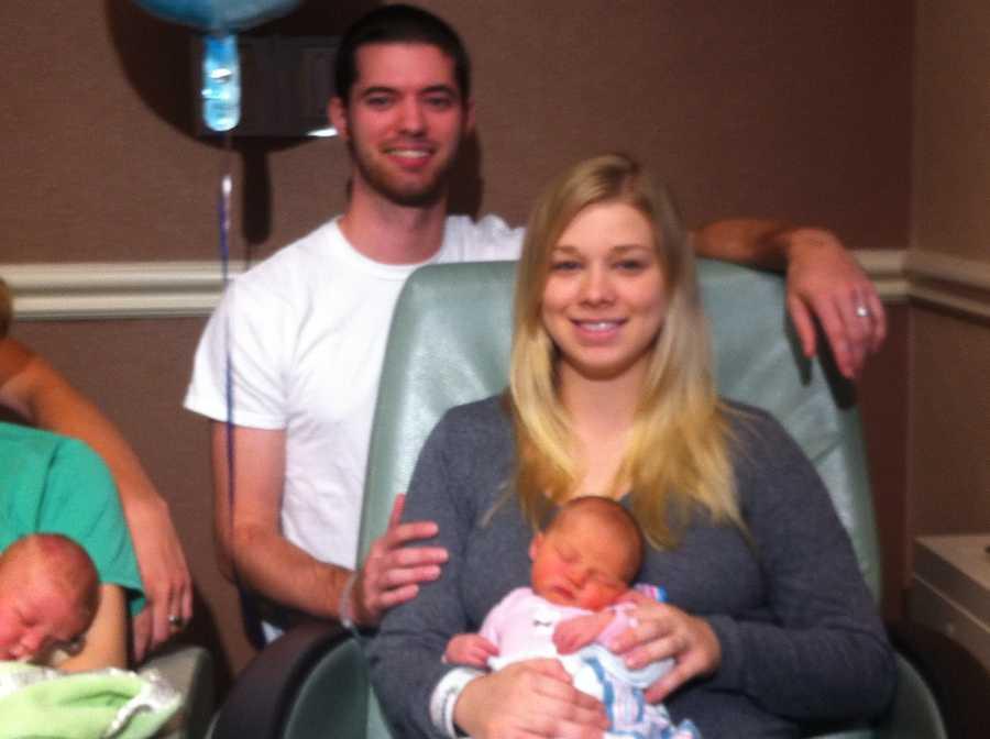Kyle, Amanda and Emma Grace Marie Richardson