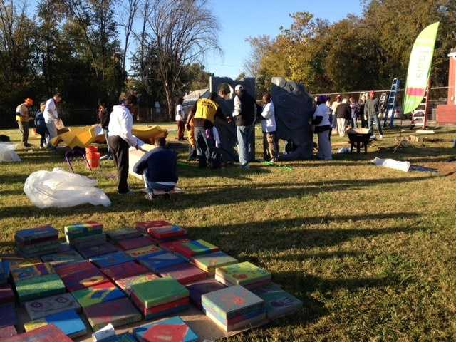 A one-of-a-kind playground and community garden will be built Tuesday at the Parkland Boys and Girls Club in only six hours. (Read more)