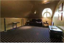 Full- size renovated attic