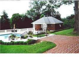 Can you imagine a more beautiful pool and outdoor space?Check out realtor.com for more information on this magnificent Louisville estate.