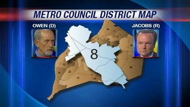 In District 8, a Republican is challenging one of the best-known and longest-serving Metro Council members.