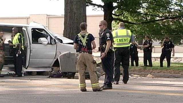 Police release the official report on the deadly crash involving a day care van in June.