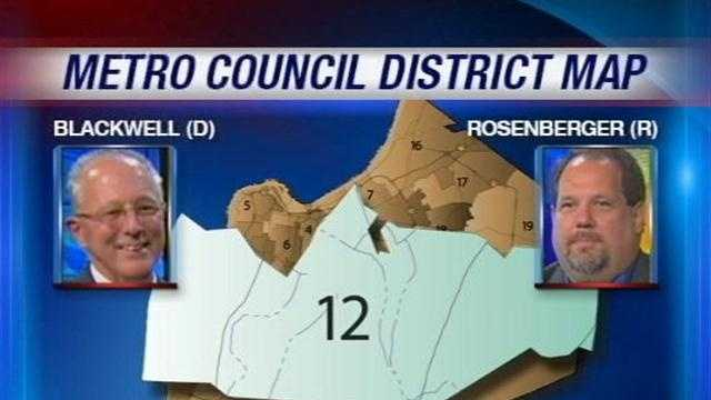 A Republican is challenging a long-standing Democratic leader for a seat on the Louisville Metro Council in District 12.