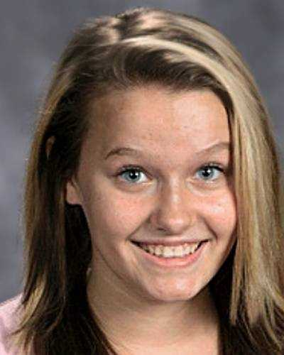 "Catherine Elizabeth McGuire is 14 years old and went missing from Louisville, KY on October 4th, 2012. She is believed to be either in the local area or traveling to Nashville, TN. She may be accompanied by a female companion as well. She is 5'5"" with blonde hair that has highlights and blue eyes. She has a scar on her right elbow and has her hair hair dyed black underneath. Catherine's nickname is Caelie."