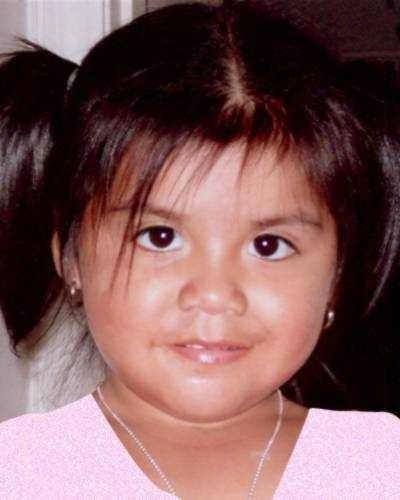 Nancy Flores-Aalaya is Samuel's sister. Today she is 8 years old and went missing on April 11, 2008 from Lexington, KY. She may be with her father in Mexico. She has brown hair and brown eyes.