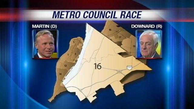 In Metro Council District 16, a Democrat is taking on a long-time Republican leader.