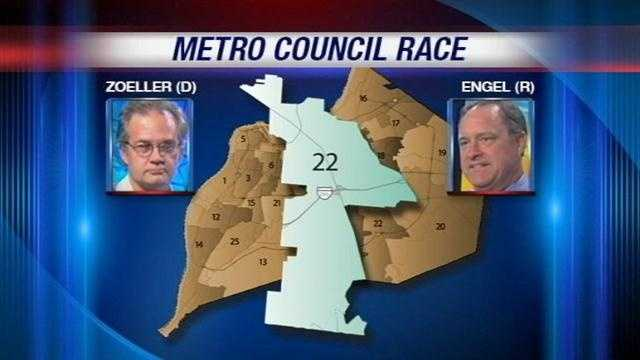 Eight Metro Council seats are being contested this November. One of them is in District 22, where a Democrat is challenging a Republican incumbent.