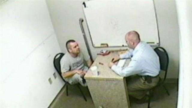 Newly released police documents show a pattern of contradictions in the murder cases against Josh Gouker and his son, Joshua Young.