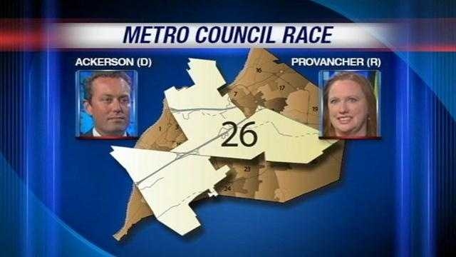 In the 26th District, which sits in the heart of the Metro, a one-term Democrat faces a Republican challenger.