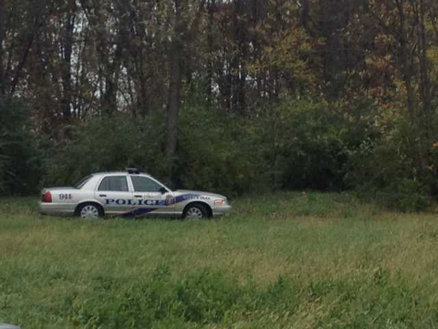 A death investigation is underway in Okolona after a body was found in the woods behind a business.