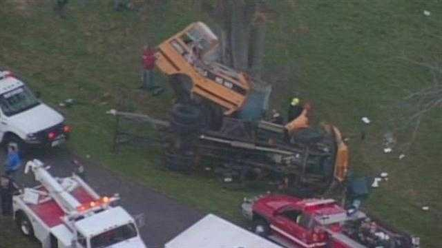 Community mourns children killed in bus crash