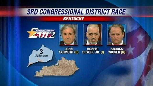 Kentucky Rep. John Yarmuth will face two challengers when voters head to the polls next Tuesday.