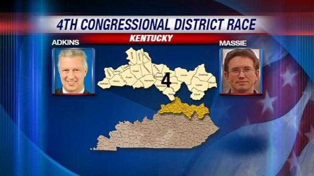 Two candidates with vastly different backgrounds are vying for the open seat in Kentucky's 4th Congressional District.