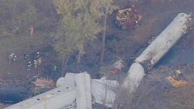 A stretch of Dixie Highway will close again as workers move dangerous chemicals from the site of a train derailment nearly two weeks after it happened.