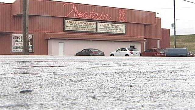 Three men are facing charges following a prostitution sting operation at a southern Indiana sex shop.