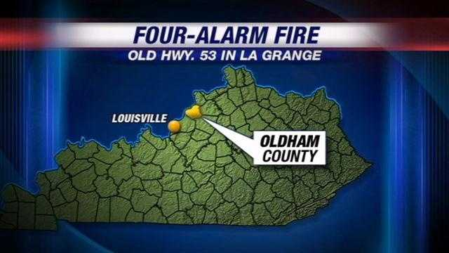 Oldham County fire