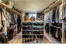 Huge walk-in closet.