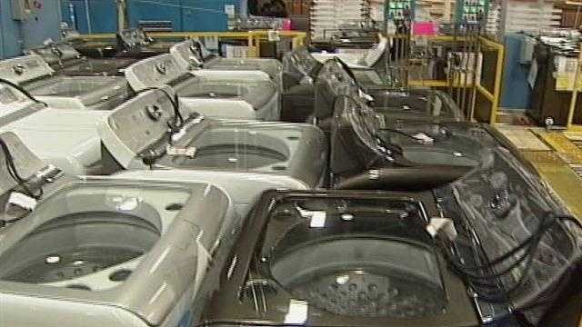 More jobs have come to Louisville since GE unveiled a new line of high efficiency washing machines.