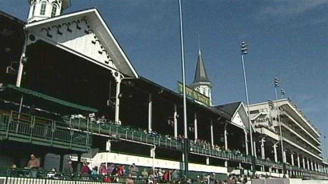 Many continue the annual tradition of spending Thanksgiving at Churchill Downs.