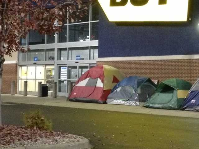 Black Friday shoppers have been out in full force